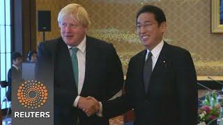 Boris Johnson talks North Korea and Olympics in Tokyo - REUTERSVIDEO