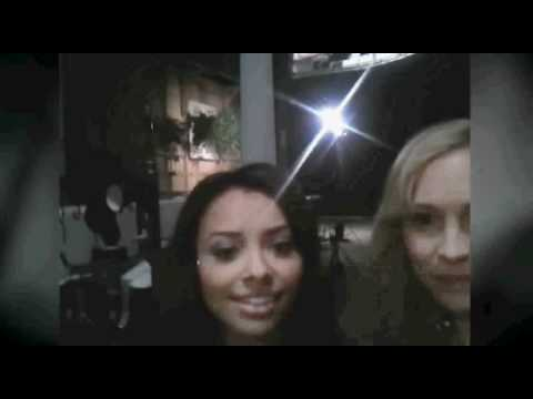 Behind the scenes with Candice Accola