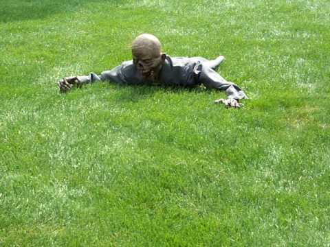 RC crawling zombie prop