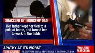 15 years old girl shackled with a chain - NEWSXLIVE