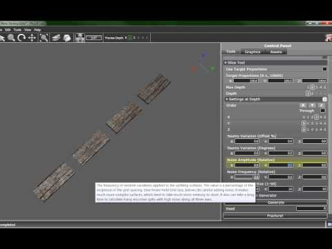 APEX Destruction Tutorial with PhysXLab: Wood Material (3)