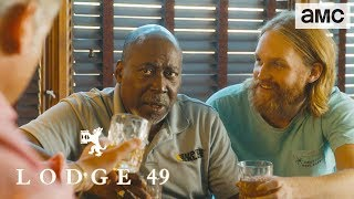 'Truth of the Orbis Deal' Talked About Scene Ep. 108 | Lodge 49 - AMC