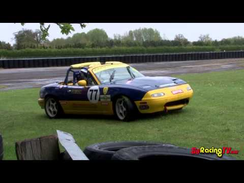 2013 BRSCC Mazda MX-5 championship Meeting 2 Croft