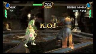 Soul Calibur Broken Destiny psp gameplay view on youtube.com tube online.