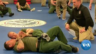 Border Agents Train in Virtual Ports of Entry - VOAVIDEO