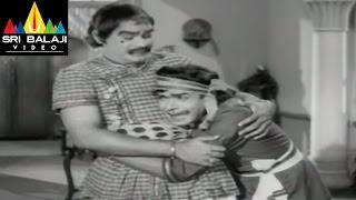 Alibaba 40 Dongalu Movie Raja Babu and Mikkilineni Comedy || NTR, Jaya Lalitha - SRIBALAJIMOVIES