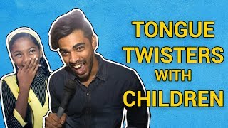 Tongue Twisters with Children | Funny Video | Children's Day Special - ZOOMDEKHO