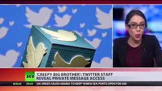 Bird's eye: Twitter staff reveal private data access - RUSSIATODAY