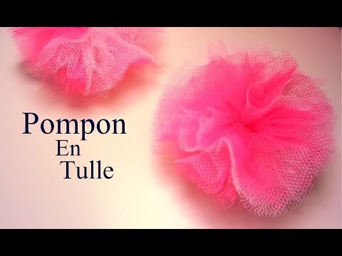 Related video - Comment faire une fleur en tulle ...