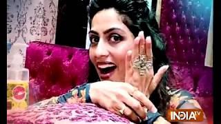 It's Nail Spa time for Zeenat aka Monika Khanna of Ish Subhan Allah - INDIATV