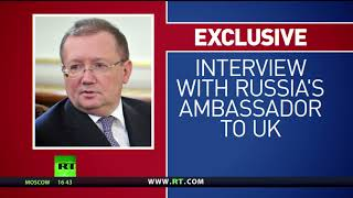 'Skripal case helps divert attention from Brexit' – Russian ambassador to UK Yakovenko - RUSSIATODAY