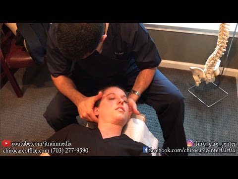 Chiropractic Adjustment on a Perinatal Sonographer