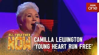 Camilla Lewington performs 'Young Hearts Run Free' by Candi Staton - All Together Now: Episode 4 - BBC