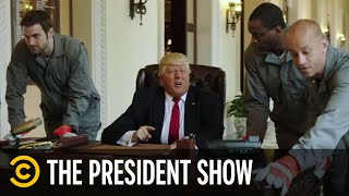 "The President Stars in ""VanderTrump Rules"" - The President Show - COMEDYCENTRAL"