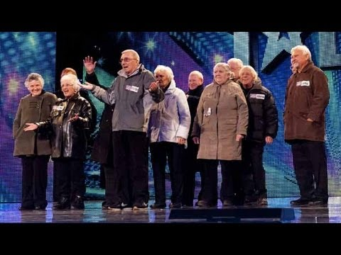 The Zimmers - Britain's Got Talent 2012 audition - International version