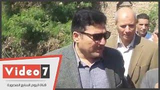 بالفيديو.. وزير الرى يحيل مسئول فرع ترعة الإبراهيمية للتحقيق لتغيبه عن موقع عمله