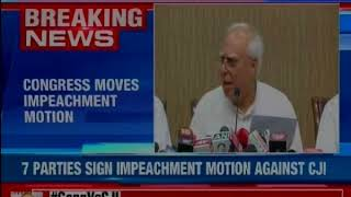 Kapil Sibal: Chief Justice hasn't asserted judiciary's independence - NEWSXLIVE