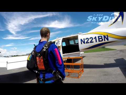 Dawson Myers's Tandem skydive!