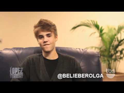 Justin Bieber habla en español