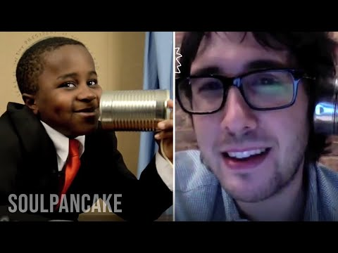 Josh Groban Answers YOUR Fan Mail! - Kid President Bonus