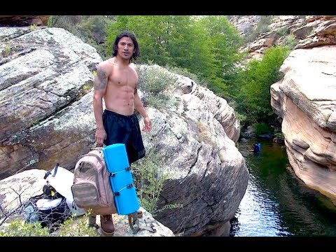 Epic Cliff Jump Kung Fu Way & Boxing Way!
