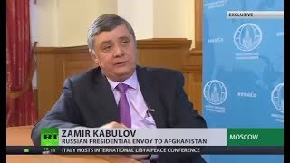 True peace in Afghanistan can't be achieved without talks with Taliban - Russian envoy (EXCLUSIVE) - RUSSIATODAY