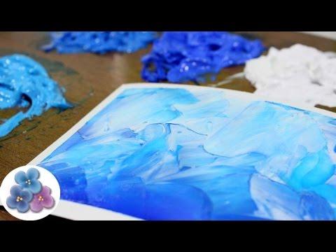 Como Hacer Pintura al Oleo con Pintura Acrilica Tutorial Tecnicas de Pintura Facil