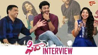 Fidaa Movie Team Hilarious Interview | Varun Tej | Sai Pallavi - TELUGUONE