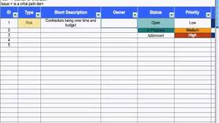 5) Risk & Issue Log - Project Management - YouTube
