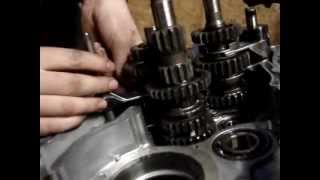 yamaha engine teardown part