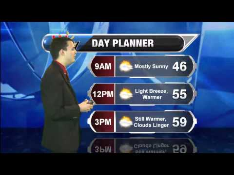 Forecast - Sat. Evening Apr. 19th