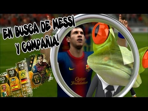 FIFA13 Ultimate Team - Buscando a Messi y Cía...Ep.1 Open Pack!