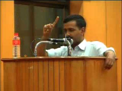 Part 3: Arvind Kejriwal @ IIT Chennai - 31st July 2011