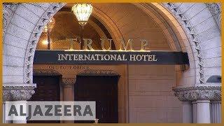 🇺🇸 Trump hotel under scrutiny for accepting payments | Al Jazeera English - ALJAZEERAENGLISH