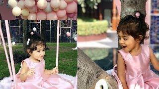 Actress Asin Daughter Arin's First Birthday Celebration Photos - RAJSHRITELUGU