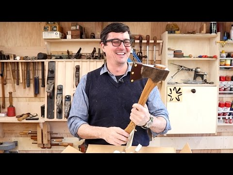 Unboxing A Liam Hoffman Axe - AMAZING!!!