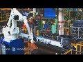 Solución robotizada para la fabricación de neumáticos de maquinaria pesada.