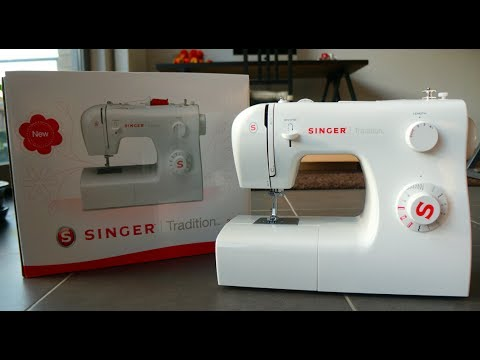 Unboxing   SINGER Tradition 2250