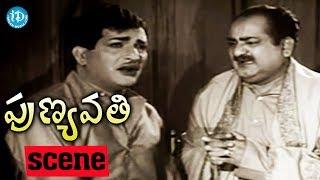 Punyavathi Movie Scenes - S V Ranga Rao Revealing About His Relation To NTR || Krishna Kumari - IDREAMMOVIES
