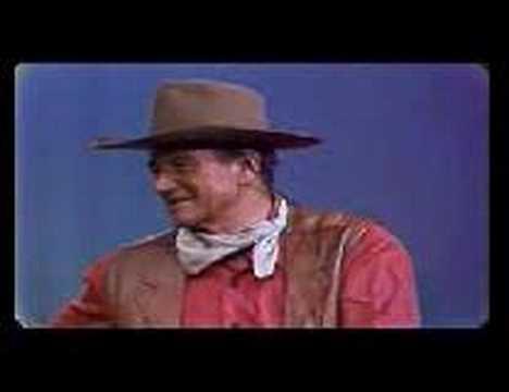 Thumbnail image for 'John Wayne & Dean Martin on Values:  A Long Time Ago'