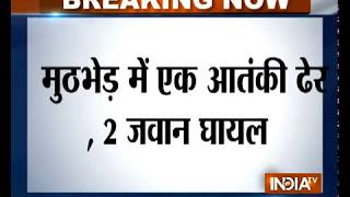Terrorist gunned down, 2 army personnel injured in encounter in Jammu and Kashmir's Kupwara - INDIATV
