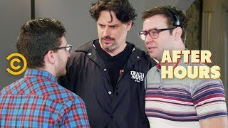 Nerding Out with Joe Manganiello and Taran Killam - After Hours with Josh Horowitz - COMEDYCENTRAL