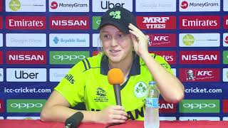 ICC Womens World T20 2018  - Ireland player Kim Garth - CRICKETWORLDMEDIA