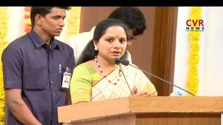 MP Kavitha Speech at Basavatarakam Cancer Hospital 18 Anniversary | Hyderabad | CVR News - CVRNEWSOFFICIAL