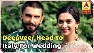 Top News: Deepika, Ranveer head to Italy for their wedding tomorrow - ABPNEWSTV