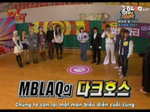 [Vietsub] MBLAQ with AfterSchool  - Idol Army S5 Ep7 (3.5)