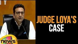 Gaurav Bhatia Making A Statement To Press   Judge Loya Case   Mango News - MANGONEWS