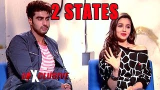 2 STATES: Alia Bhatt and Arjun Kapoor ECLUSIVE Interview
