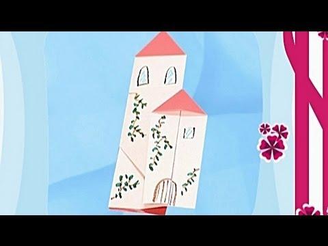 Çocuklar İçin Origami House (Öğretici) – Kağıttan Arkadaşlar 06