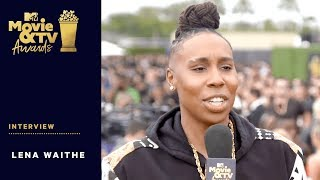 Lena Waithe on Receiving Trailblazer Award | 2018 MTV Movie + TV Awards - MTV